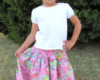 Instant Download- Cindy Skirt  PDF Skirt Pattern 12M-7 Sewing Pattern Tutorial E Book