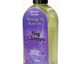 Nag Champa 100ml Massage Oil