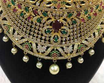 Indian Necklace   Indian Jewelry   Desi Jewelry   Indian Bridal Jewelry   Kundan Jewelry   Indian Wedding Jewelry