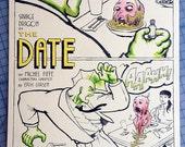 Savage Dragon Page 1, Original Comic Book Art by Michel Fiffe