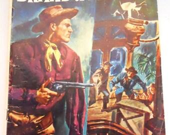 Luke Short's Comic Book, Brand of Empire  Comic, No. 771,  1956  Silver Age Comics, Vintage Dell Comics