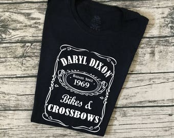 Daryl Dixon Whiskey Style Tee - The Walking Dead