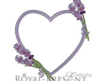 Machine Embroidery Design - Fragrant lavender #4