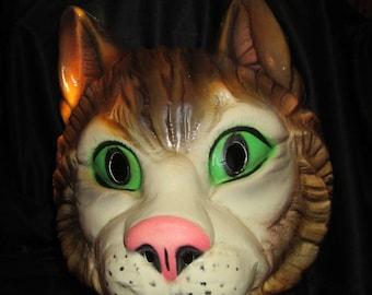 Creepy vintage Halloween mask