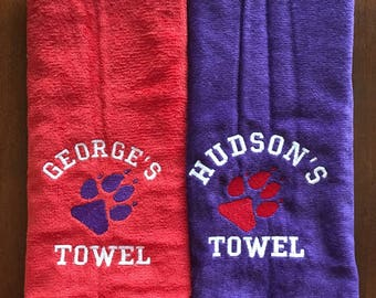 Pet towel, Dog towel, Personalized dog towel, cat towel, doggy gift, drool towel,