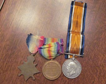 World War One Royal Artillery Trio Set of Medals
