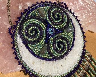 Spirals with moon