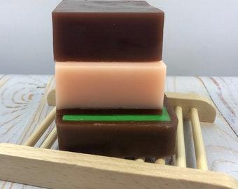 Thin Mint & Chocolate Orange Handmade Soap Trio