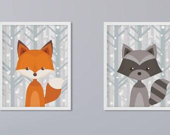 2 photo set animals of choice art print