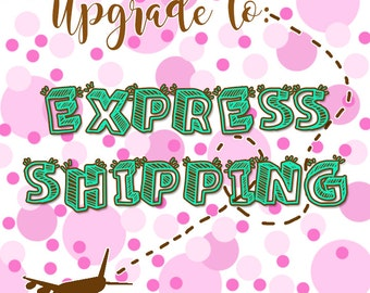 Express Priority Mail Upgrade - 1-3 Days