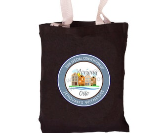 Norway Special Convention Bag | Oslo Special Convention Tote | Oslo, Norway Convention | Be Courageous | Special Convention 2018 | Pin