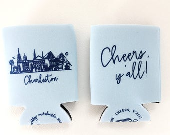 Charleston, South Carolina Insulated Can Holder