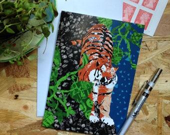 Tinga Tiger // Greetings Card - Blank