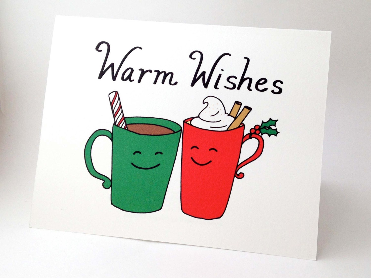 Funny christmas card punny happy holidays card unique zoom kristyandbryce Image collections