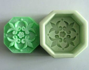 Fleur De Lis Soap Mold Flexible Silicone Mould For Handmade Soap Candle Candy Cake Fimo Resin Crafts bath bomb mold