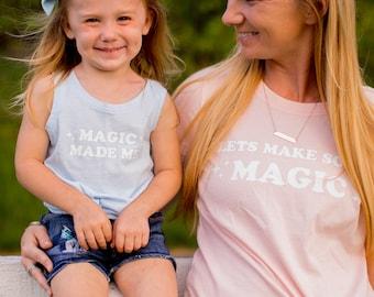 Magic Made Me Toddler | Kids Tee | Tank