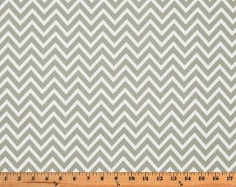 Premier Prints Cosmo Chevron in Storm Twill Home Decor fabric, 1 yard