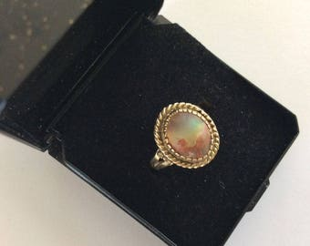 Gorgeous  14K YELLOW GOLD OPAL Ring With Appraisal!!!
