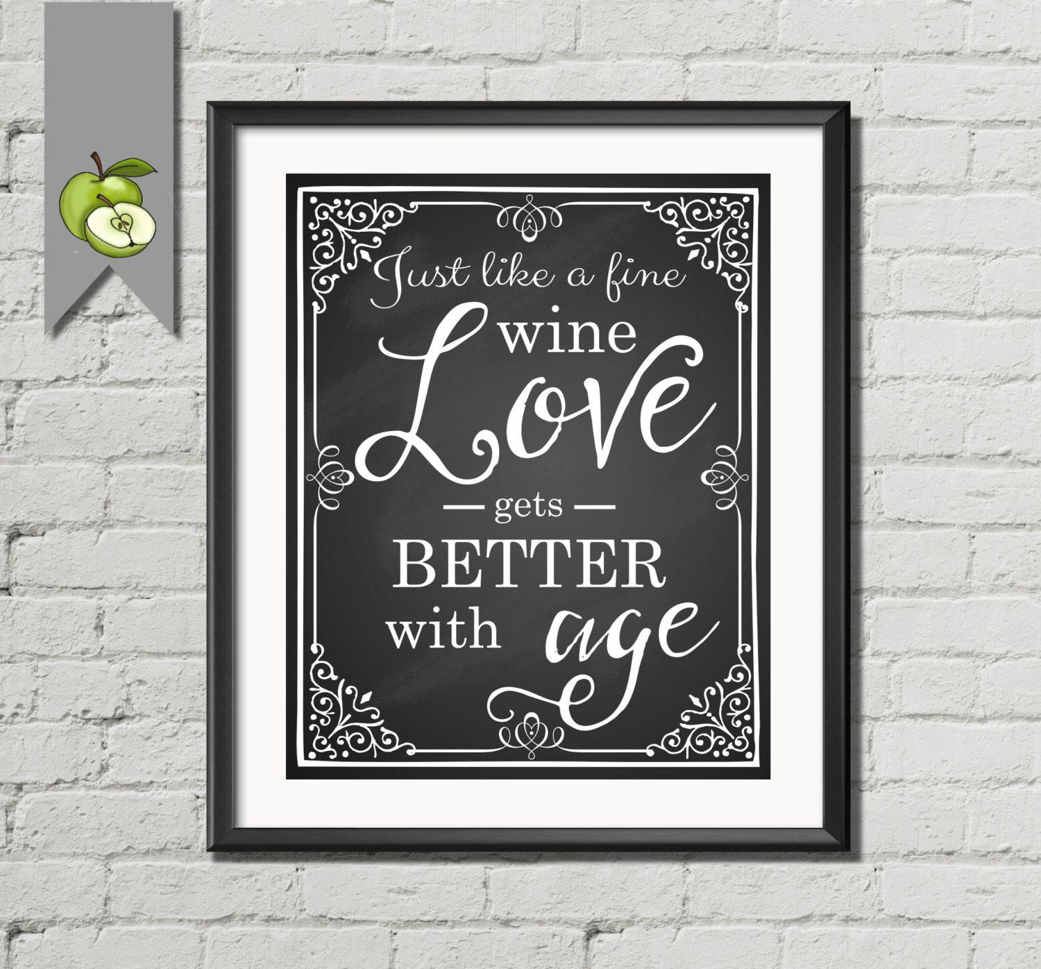 Just Like A Fine Wine Love Gets Better With Age Printable