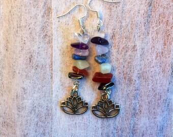 Lotus Chakra Earrings