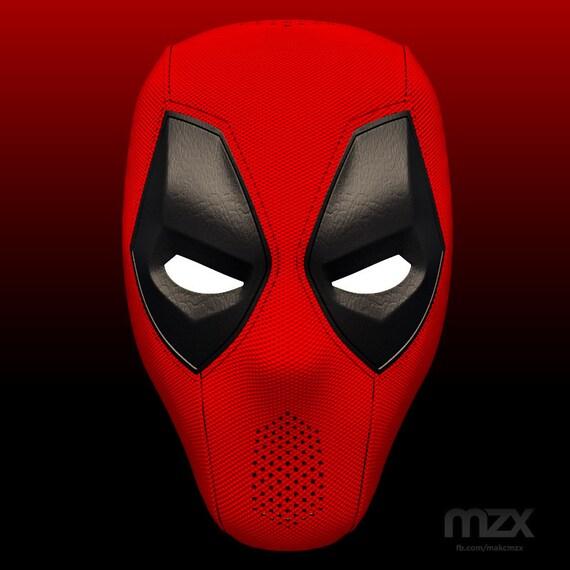 Deadpool Mask v.1.1 for 3D-printing DIY