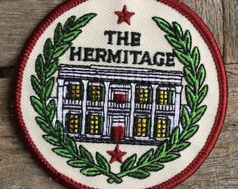 Andrew Jackson's Hermitage, Tennessee Vintage Souvenir Travel Patch