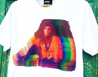 Kate Bush Rainbow Collage T-Shirt