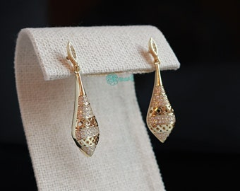 925 Sterling Silver earrings,Vintage style Drop earrings,Long Dangle,Gold hoops,ear climbers,ear jacket,Chandelier Earrings,silver jewellery