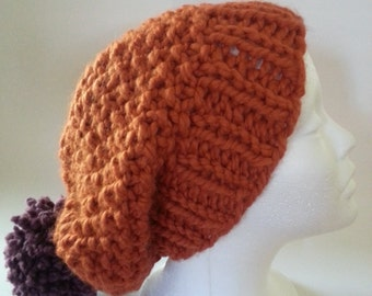 Cozy Time Orange Hat