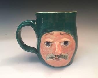 Funny Face moustache homme