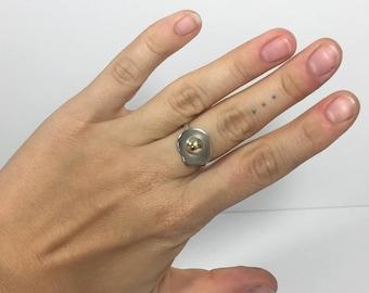 Fried Egg Ring - Size 7.5