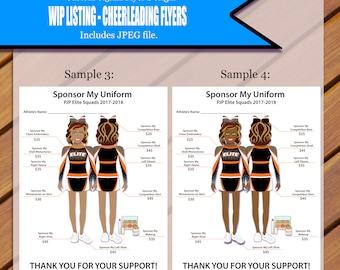 Custom Cheerleading Flyer