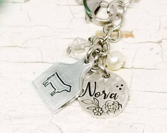 Farm charm bracelet, pig bracelet, cow bracelet, sheep bracelet, charm bracelet, farm jewelry,  custom charm bracelet, personalized bracelet
