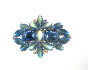 Unusual Blue Vintage Pin