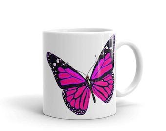 Pretty Butterfly Mug