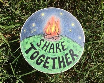 Share Together Sticker