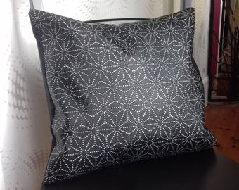 Laminated cotton fabric pillow cover