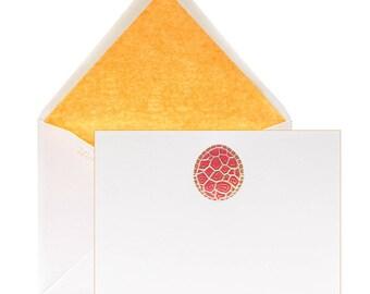 Tortoise Bright Stationery - Boxed Set (set of 12)