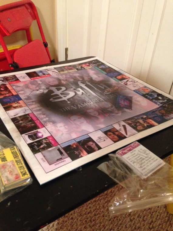 Do it yourself buffy the vampire slayer monopoly type game solutioingenieria Gallery