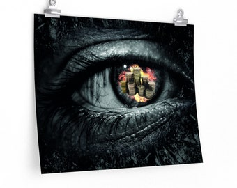 Eyes On Your Coins Poster