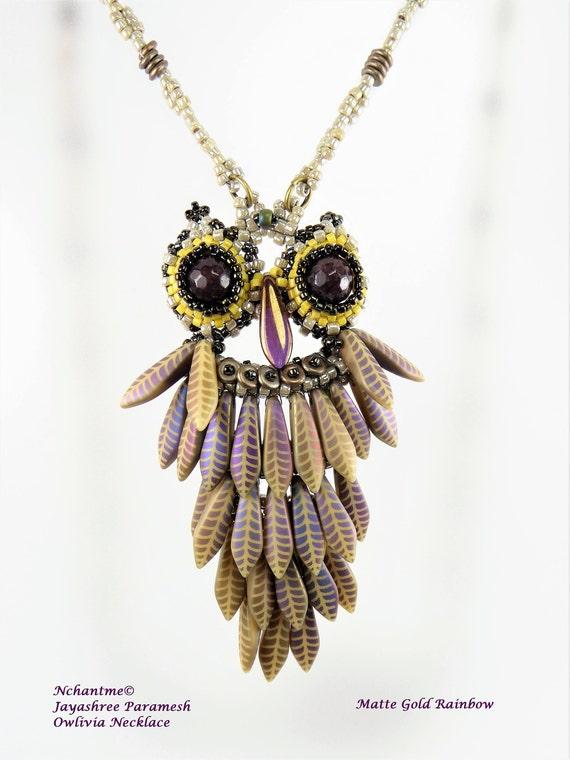 Owlivia Necklace Kit