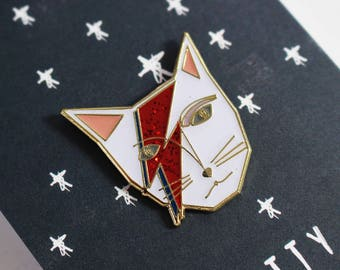 David Bowie - Kitty Stardust Pin