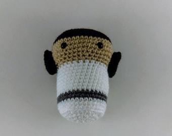 Princess Leia White Gown, Crochet Star Wars Princess Leia Gift, Princess Leia Toy Crochet Leia Doll, Princess Leia Ami Amigurumi Toy