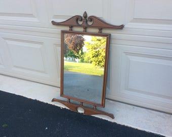 Vintage colonial mirror