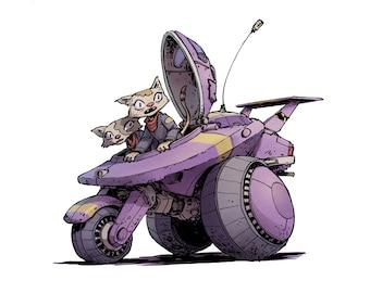 Cat Pilot IV