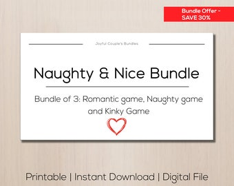 SALE sexy gift idea for boyfriend, sex game, printable love coupons, paper  anniversary