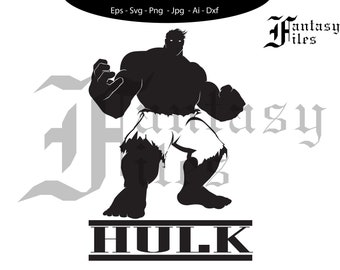 THE AVENGERS, Hulk Marvel svg/png/jpg/eps/ai/dxf. Instant DOWNLOAD