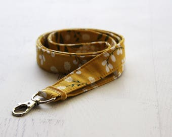 Floral lanyard - lanyard - cute lanyard - teachers lanyard - ID lanyard - key lanyard - key fob - lanyards - ID holder lanyard- badge holder