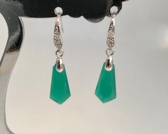 Beautiful  Art Deco  Earrings Art Nouveau Earrings  Bridal  Earrings
