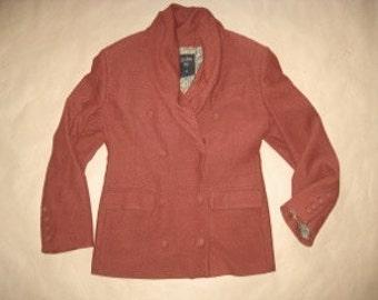 Jean Paul GAULTIER  FEMME # vintage 80's # boucle wool jacket # sz EU 34/ 44 italy